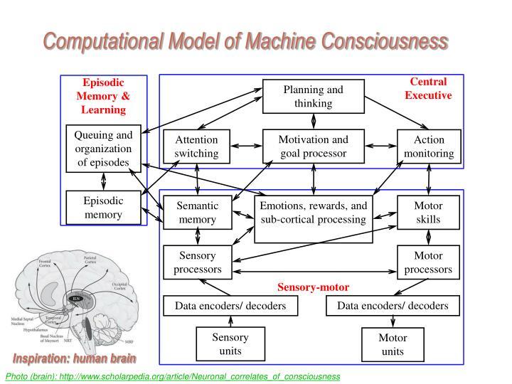 Computational Model of Machine Consciousness