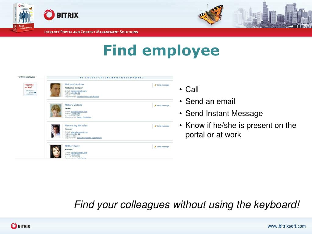 Find employee