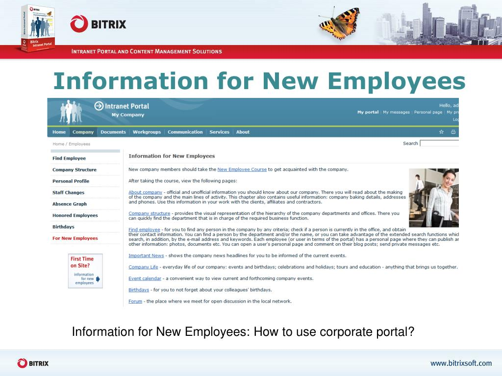Information for New Employees