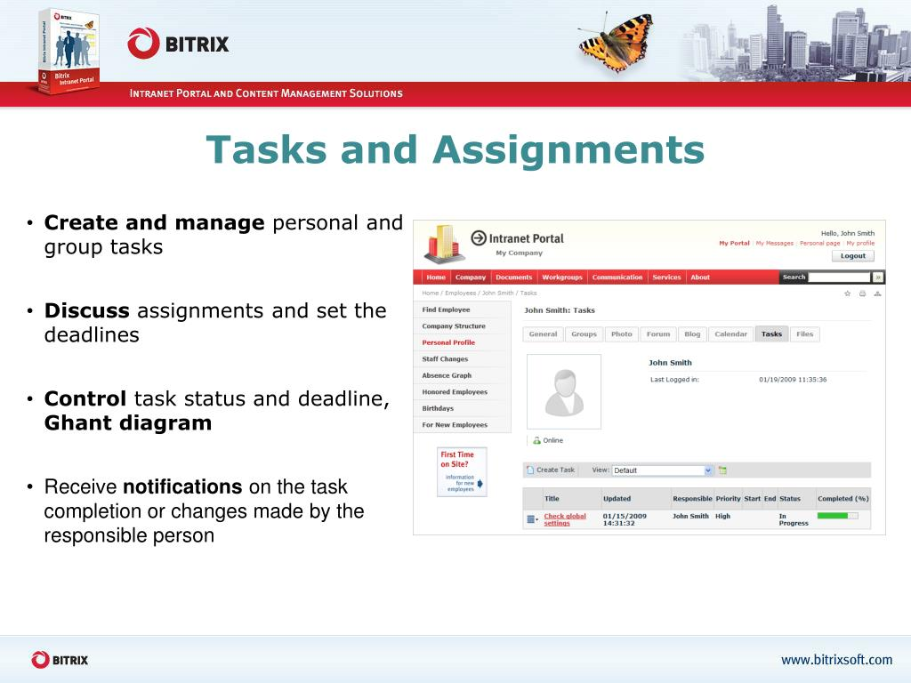 Tasks and Assignments