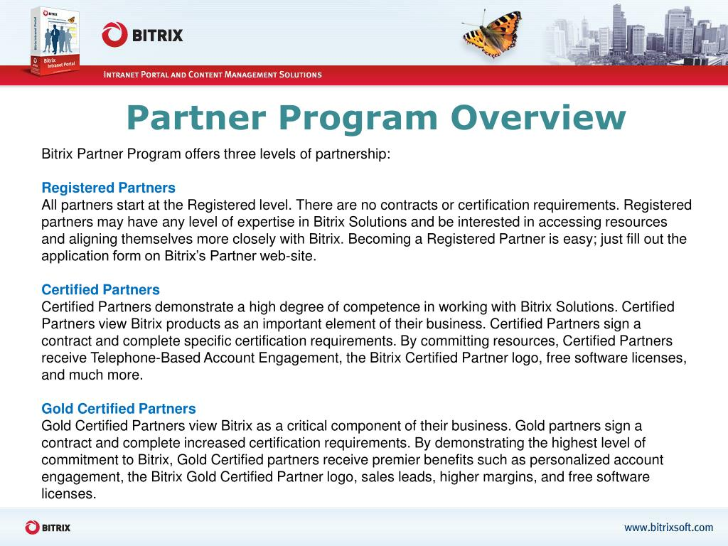 Partner Program Overview