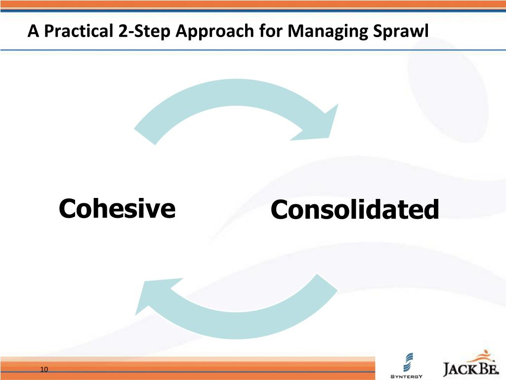 A Practical 2-Step Approach for Managing Sprawl