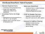 distributed sharepoint federal examples