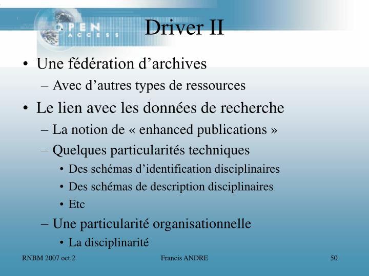 Une fédération d'archives