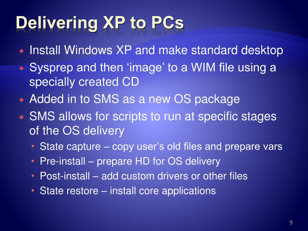 Delivering XP to PCs