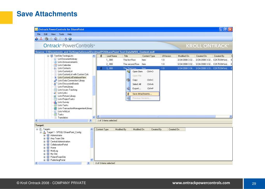 Save Attachments
