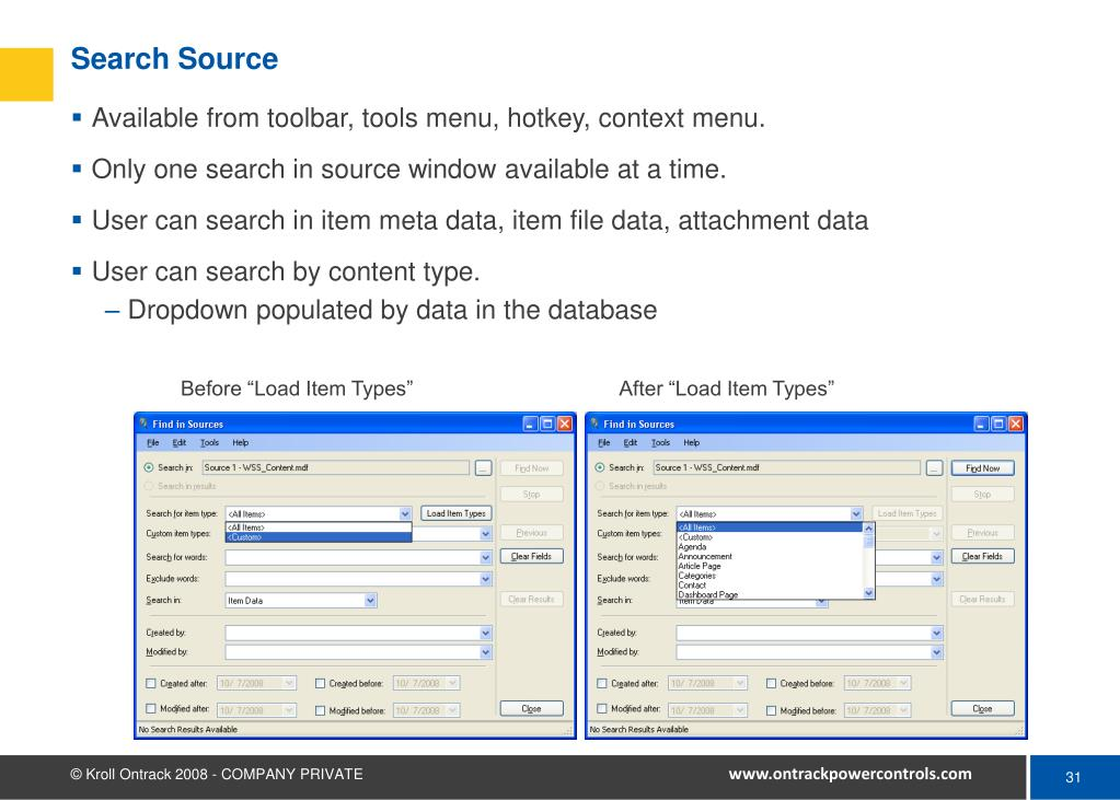 Search Source