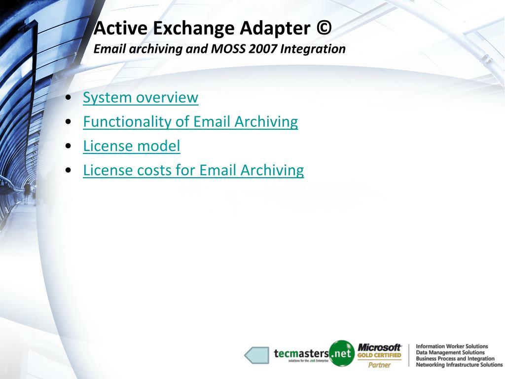 Active Exchange Adapter ©