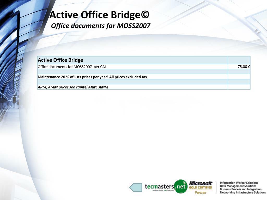 Active Office Bridge©