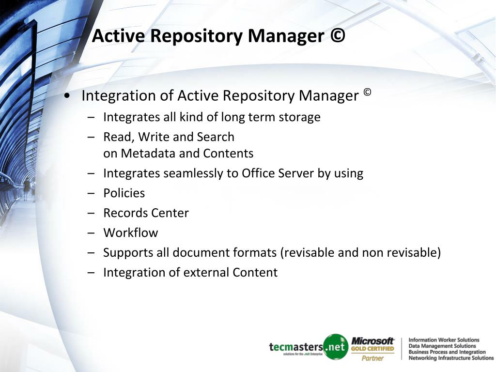 Active Repository Manager ©