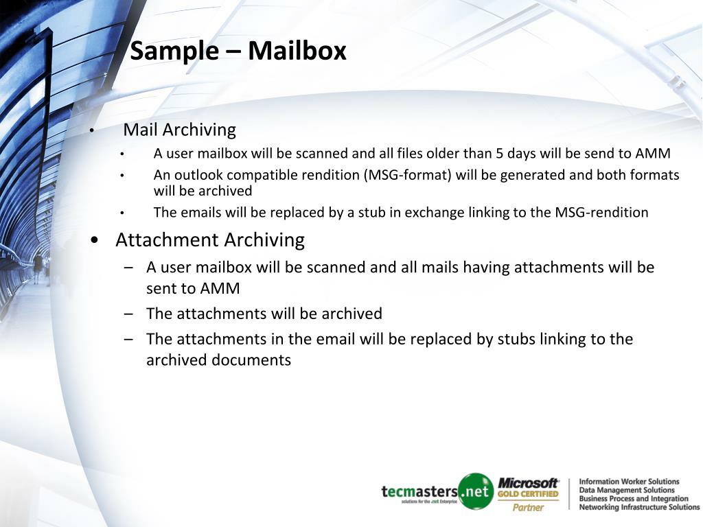 Sample – Mailbox