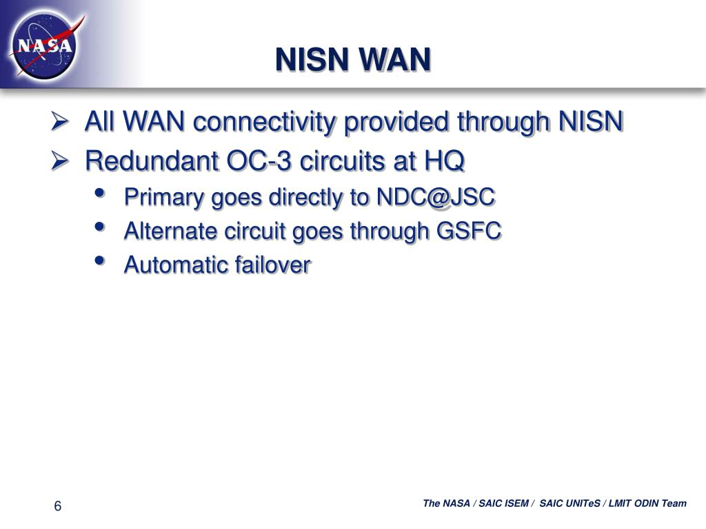 NISN WAN