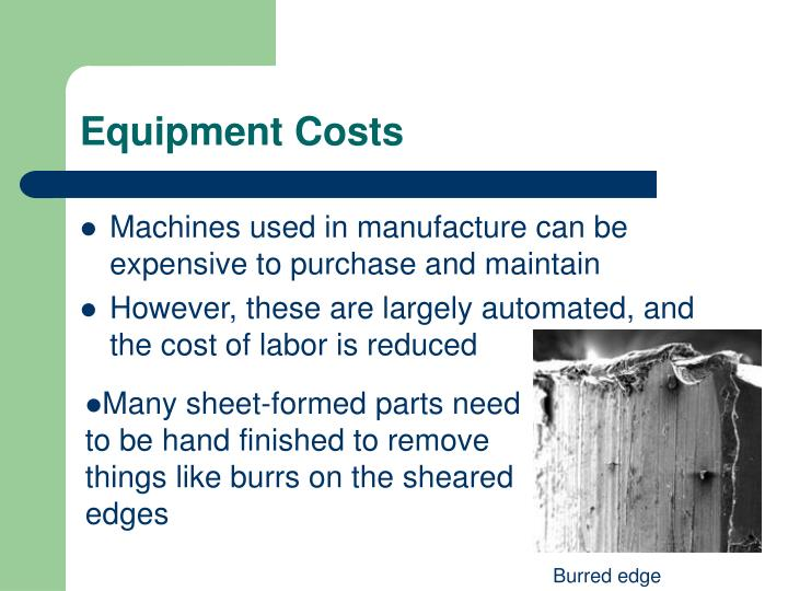 Equipment Costs