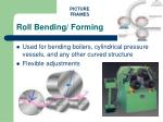 roll bending forming