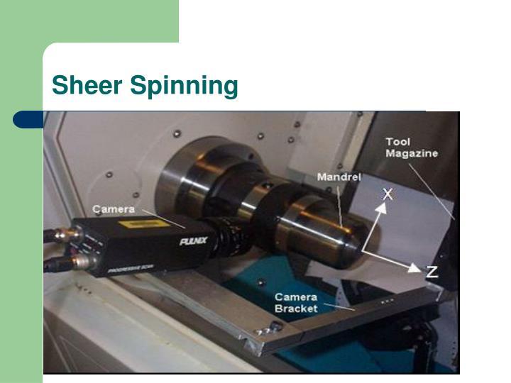 Sheer Spinning