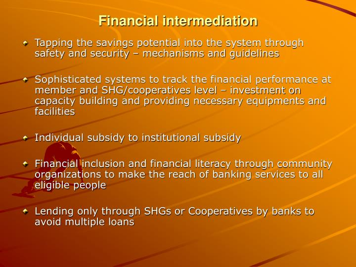 Financial intermediation