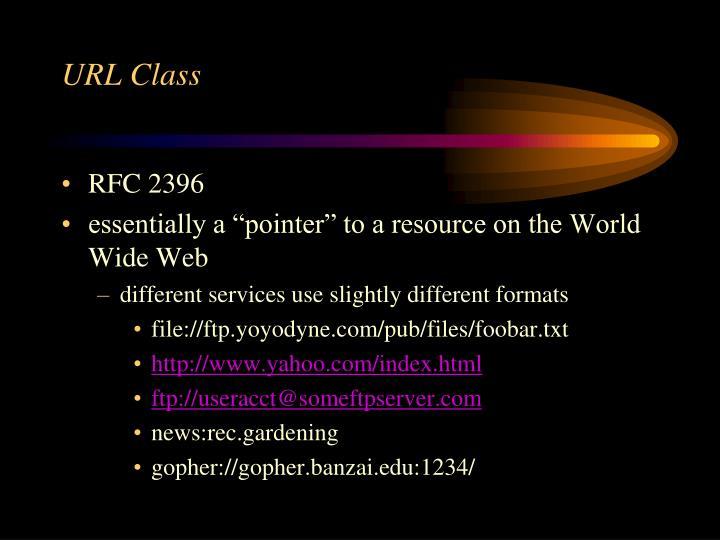 URL Class