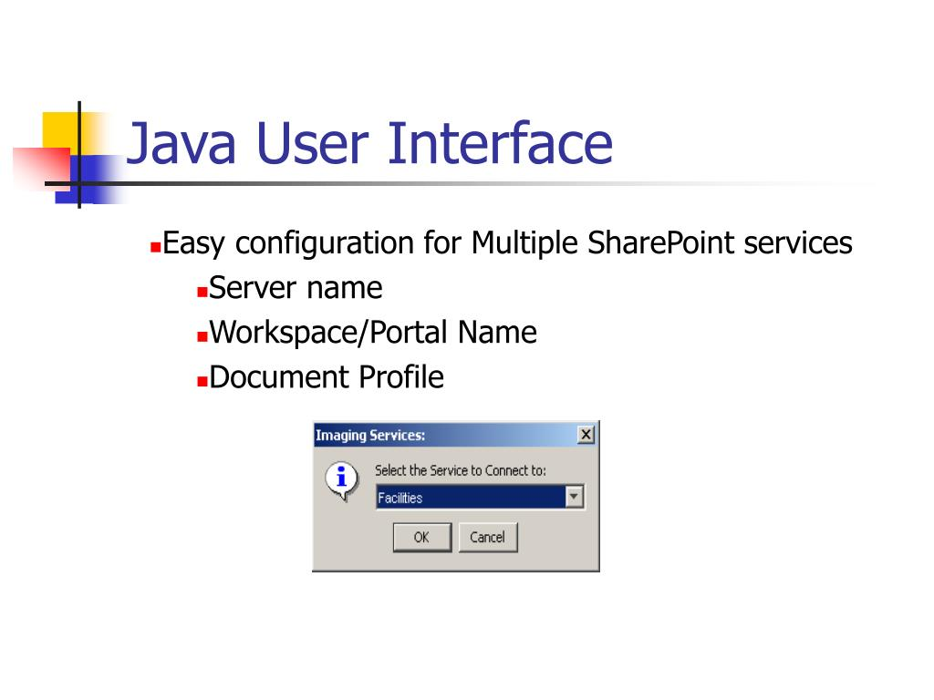 Java User Interface
