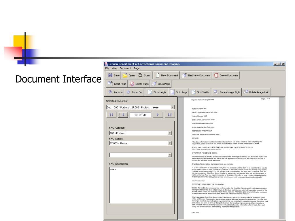 Document Interface
