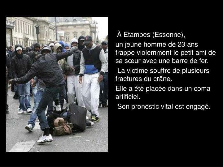 À Etampes (Essonne),