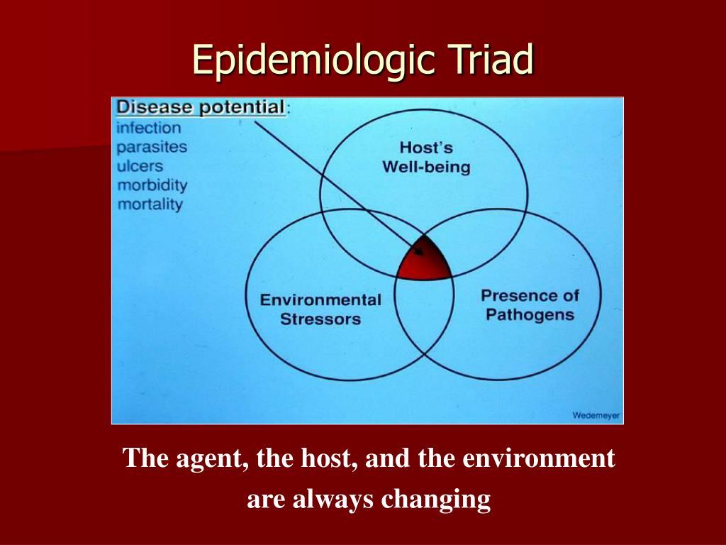 Epidemiologic Triad