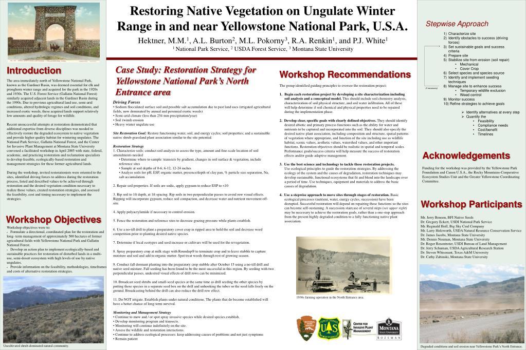 Restoring Native Vegetation on Ungulate Winter