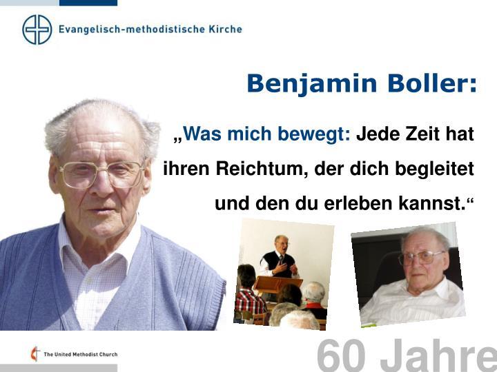 Benjamin Boller: