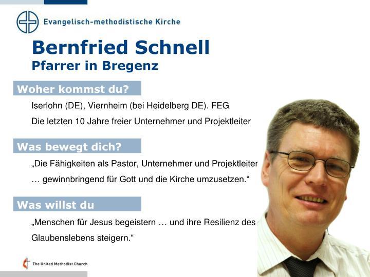 Bernfried Schnell