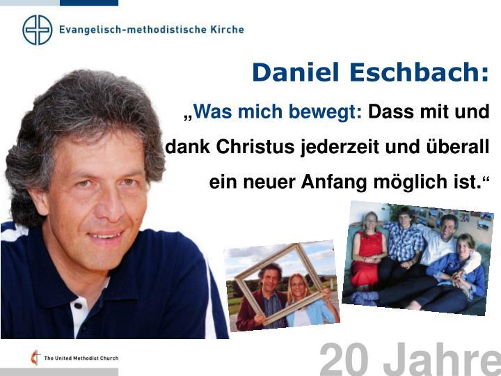 Daniel Eschbach: