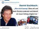 daniel eschbach