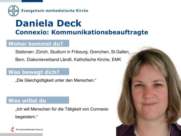 Daniela Deck
