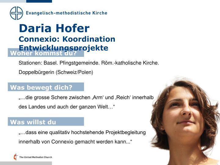Daria Hofer