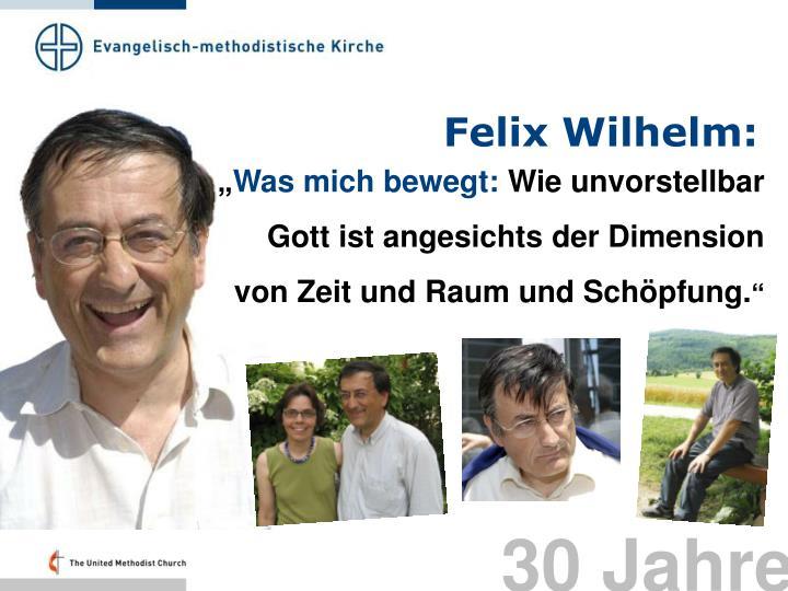 Felix Wilhelm: