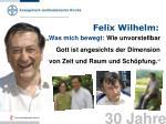 felix wilhelm