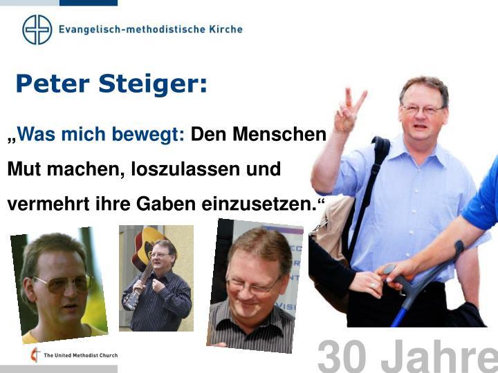 Peter Steiger: