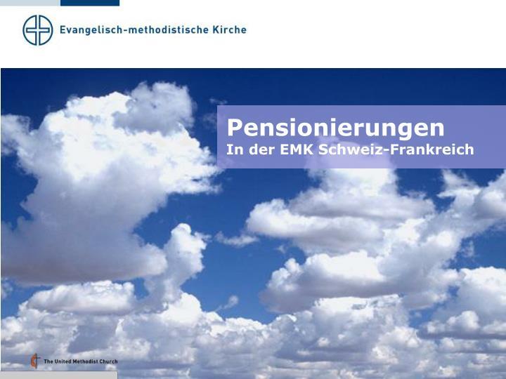 Pensionierungen