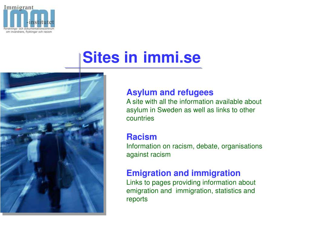Sites in