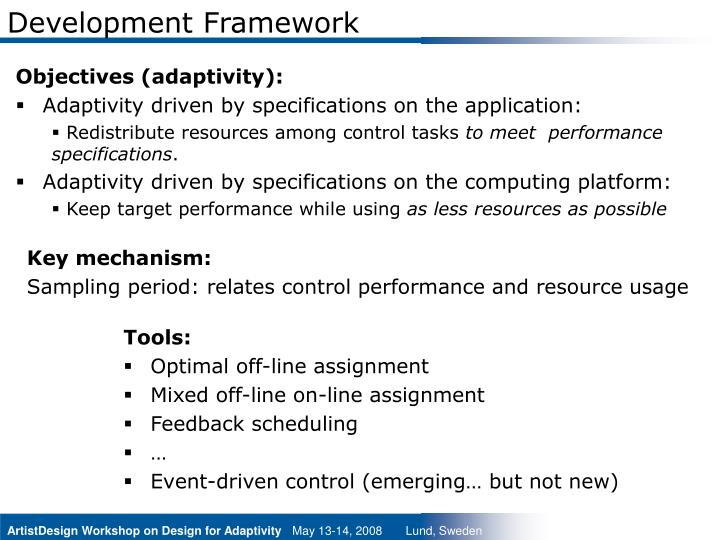 Development framework3