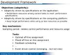 development framework3