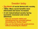 sweden today