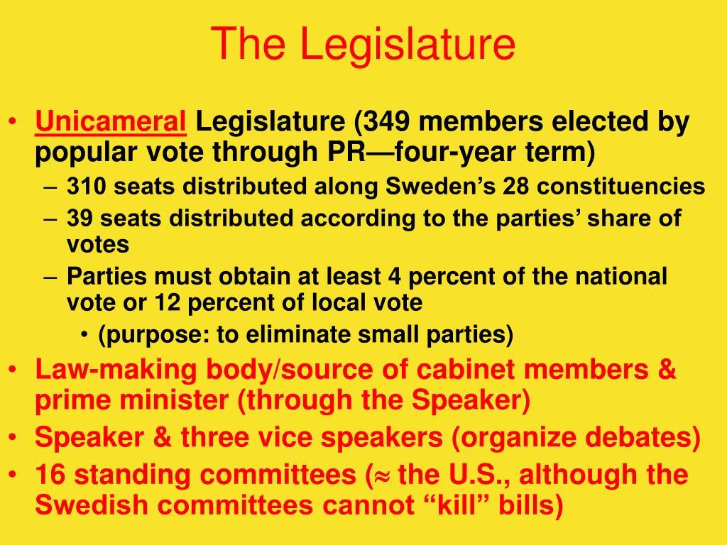 The Legislature