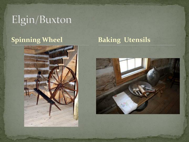 Elgin/Buxton