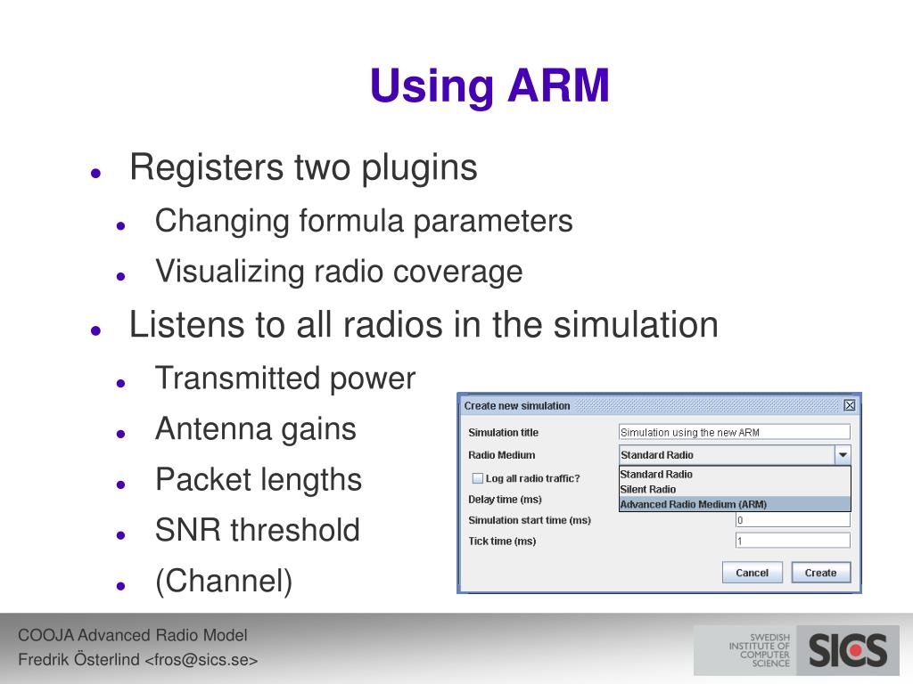 Using ARM