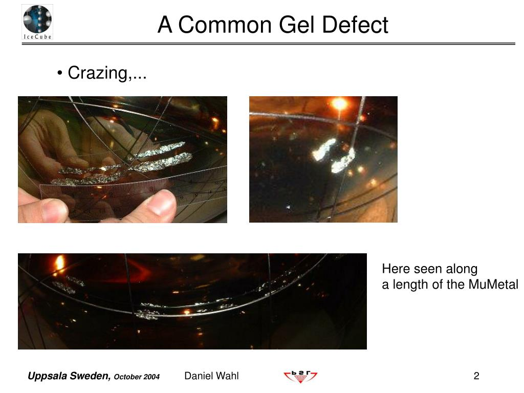 A Common Gel Defect