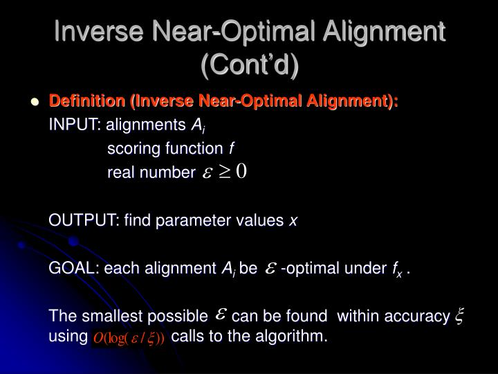 Inverse Near-Optimal Alignment (Cont'd)