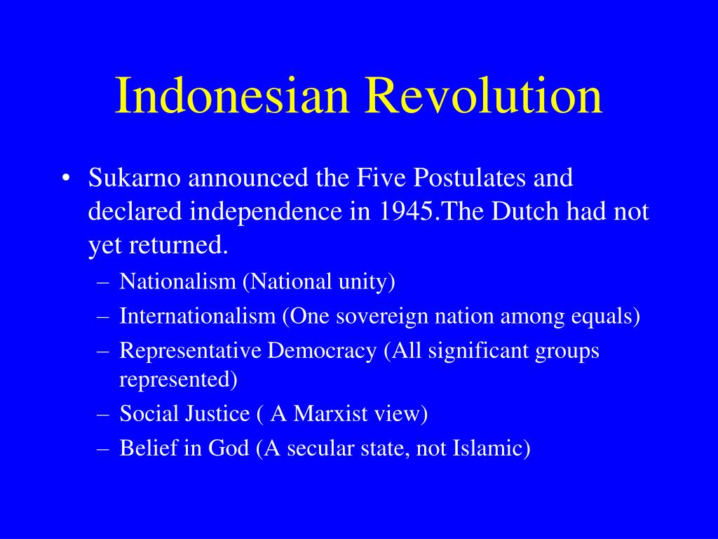 Indonesian Revolution