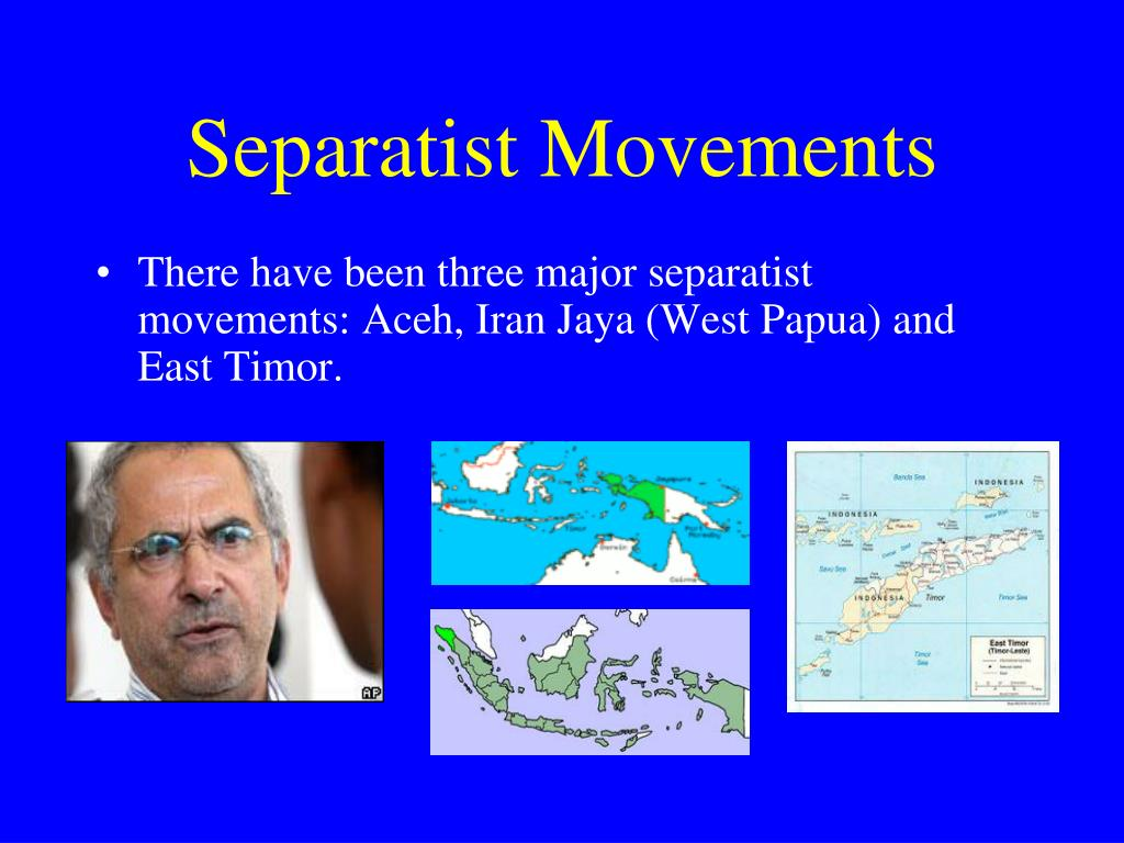 Separatist Movements