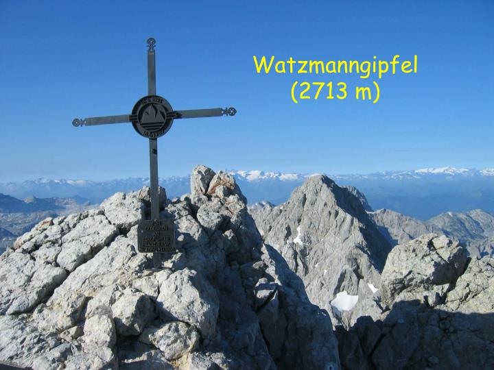 Watzmanngipfel