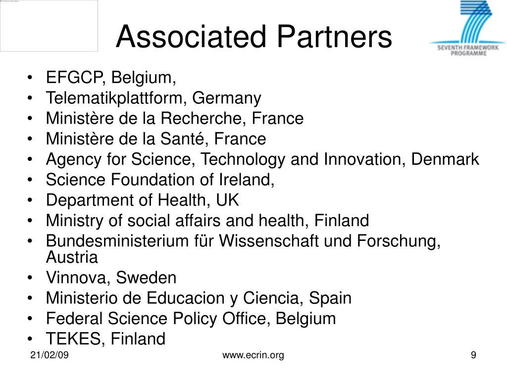 Associated Partners
