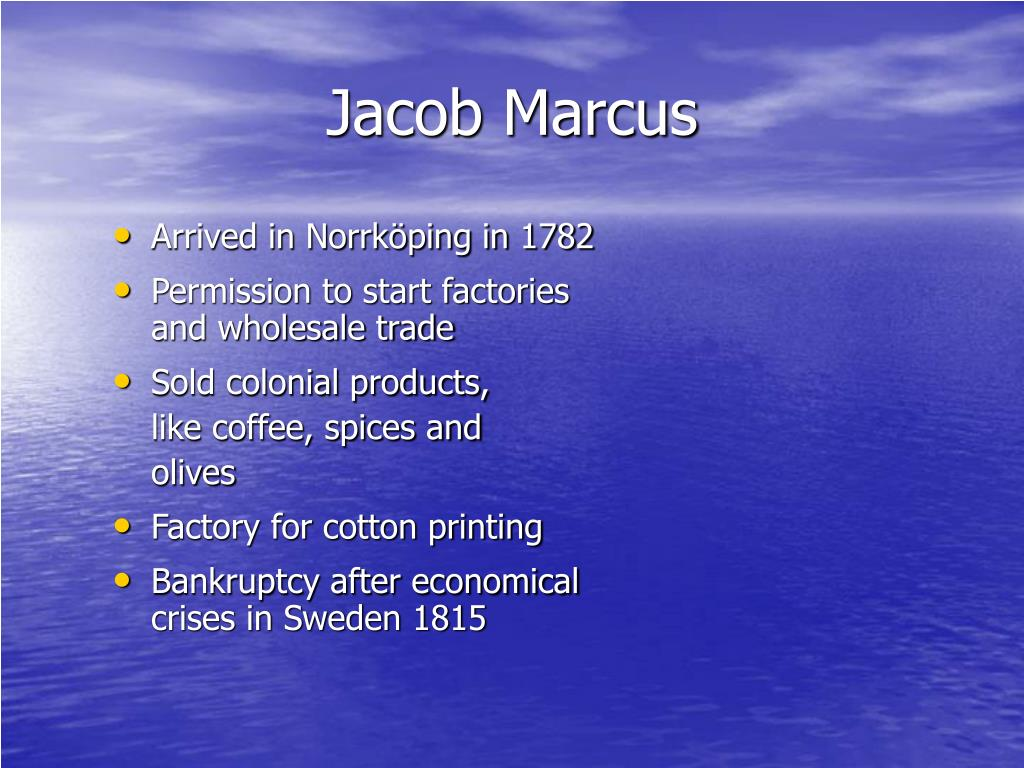 Jacob Marcus